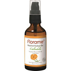 Florame Organic Vegetable Oil  Calendula  50ml