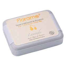 Florame Organic Traditional Soap  Lavender  100g