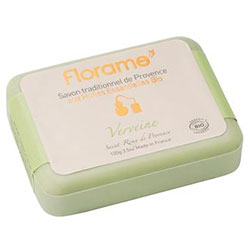 Florame Organic Traditional Soap  Verveine  100g