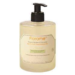 Florame Organic Traditional Liquid Soap  Sweet Almond  500ml