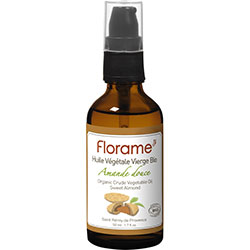 Florame Organic Vegetable Oil  Sweet Almond  50ml