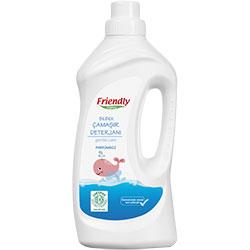 Friendly Organic Bebek Çamaşır Deterjanı (Kokusuz) 1000ml
