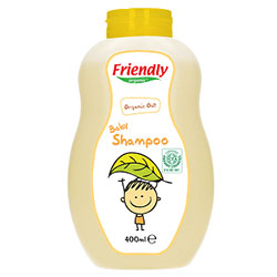 Friendly Organic Bebek Şampuanı (Yulaf) 400ml