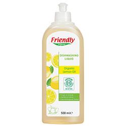 Friendly Organic Elde Bulaşık Yıkama Deterjanı (Limon Yağı) 500ml