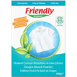 Friendly Organic Çamaşır Beyazlatıcı ve Leke Çıkarıcı (Çay Ağacı Yağlı) 500g