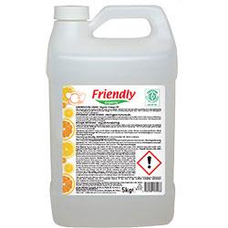 Friendly Organic Elde Bulaşık Yıkama Sıvısı (Portakallı) 5L