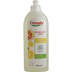 Friendly Organic Elde Bulaşık Yıkama Sıvısı (Portakallı) 500ml