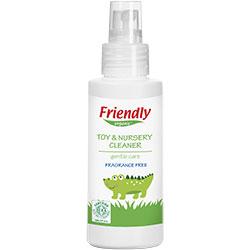 Friendly Organic Oyuncak ve Yüzey Temizleyici Sprey (Parfümsüz) 100ml