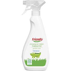 Friendly Organic Oyuncak ve Yüzey Temizleyici Sprey (Parfümsüz) 500ml