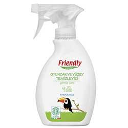 Friendly Organic Oyuncak ve Yüzey Temizleyici Sprey (Parfümsüz) 250ml