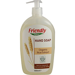 Friendly Organic Sıvı El Sabunu (Pirinç) 500ml