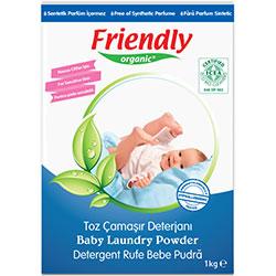 Friendly Organic Toz Çamaşır Deterjanı (Hassas Ciltler İçin) 1Kg