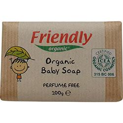 Friendly Organic Bebek Sabunu (Parfümsüz) 100gr