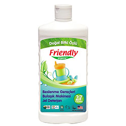 Friendly Organic Bulaşık Makinesi Jel Deterjan 500ml (25 Yıkama)