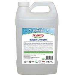 Friendly Organic Elde Bulaşık Yıkama Sıvısı (Kokusuz Hassas) 3,78L
