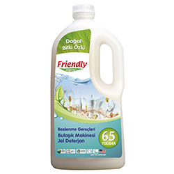 Friendly Organic Bulaşık Makinesi Jel Deterjan 1.2L (Lavantalı, 65 Yıkama)