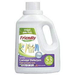 Friendly Organic Hassas Ciltler İçin Çamaşır Deterjanı Lavanta Özlü 1,5L (53 yıkama)
