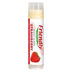 Friendly Organic Dudak Koruyucu Lip Balm (Çilekli)