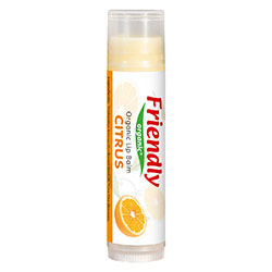 Friendly Organic Dudak Koruyucu Lip Balm (Narenciye, Citrus)