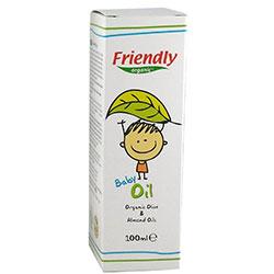 Friendly Organic Bebek Yağı (Zeytinyağı ve Badem Yağı) 100ml