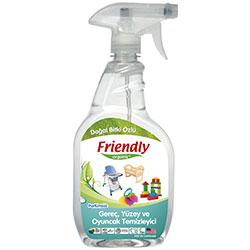 Friendly Organic Gereç, Yüzey ve Oyuncak Temizleyici 650ml