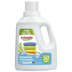 Friendly Organic Konsantre Yumuşatıcı Pamuk Çiçeği (50 Yıkama) 739ml