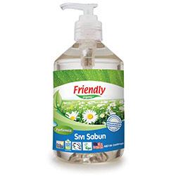 Friendly Organic Sıvı El Sabunu (Kokusuz, Greyfurt Çekirdeği Özlü) 500ml