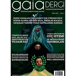 Gaia Sürdürülebilir Yaşam Dergisi  (Ekim 2015)