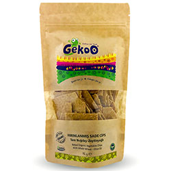 Gekoo Organic Chips  Whole Wheat & Olive Oil  115g