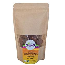 Gekoo Organik Glutensiz Acı-Tatlı Kurabiye  Keçiboynuzu & Tahin &Portakal  100g