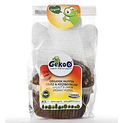 Gekoo Organik Keçiboynuzlu Kek (Muffin) 70gr