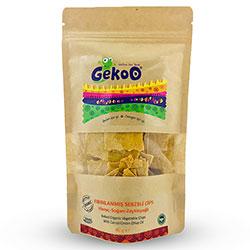 Gekoo Organik Sebzeli Fırınlanmış Cips  Havuç & Soğan & Zeytinyağı  115g