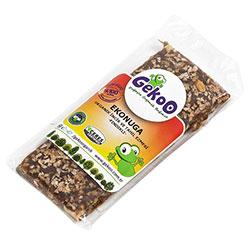 Gekoo Organik Ekonuga İncir ve Tahıl Ezmesi Fındıklı 40gr