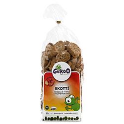 Gekoo Organik Ekotti Cevizli Rezeneli Biscotti 235gr