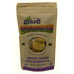 Gekoo Organik Tereyağlı Çocuk Biskuvisi 80gr (12 Ay+)