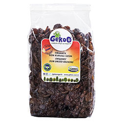 Gekoo Organik Gün Kurusu Üzüm 250gr