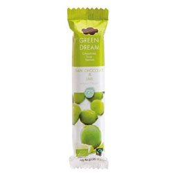 Green Dream Organik Çikolata (Bitter %72 & Misket Limonlu) 30gr