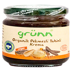 Grünn Organic Carob and Sesame Paste 200g
