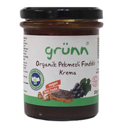 Grünn Organic Hazelnut Paste With Grape Molasses 200g