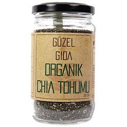 GÜZEL GIDA Organik Chia Tohumu 200g