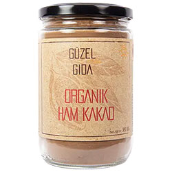 GÜZEL GIDA Organik Ham Kakao 320g