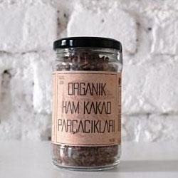 GÜZEL GIDA Organik Ham Kakao Parçacıkları 140gr