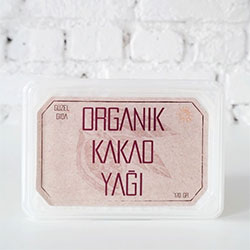 GÜZEL ADA GIDA Organik Kakao Yağı 170gr
