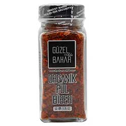 Güzel Gıda Organic Crushed Red Hot Pepper 50g