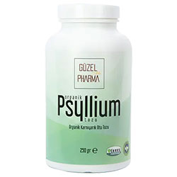 GÜZEL GIDA Organik Psyllium Karnıyarık Otu Tozu 250g