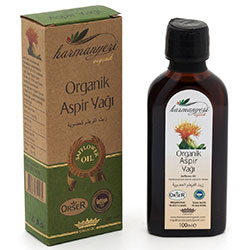 Harmanyeri Organic Safflower Oil  Cold Press  250ml