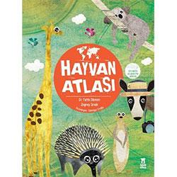 Hayvan Atlası (Harita Hediyeli) (Fatih Dikmen, Zeynep Sevde, Taze Kitap)