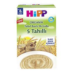 HiPP Organik 5 Tahıllı Ek Gıda 200gr