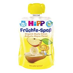 HiPP Organik Armutlu Muzlu Elmalı Meyve Keyfi 90gr