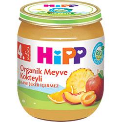 HiPP Organik Meyve Kokteyli Kavanoz Maması 125gr